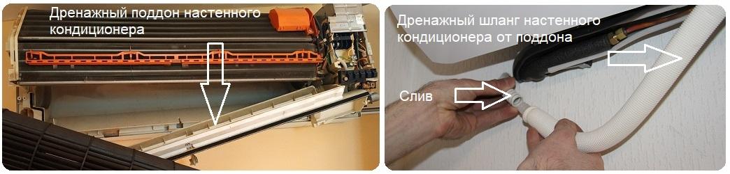 Устройство дренажа кондиционера