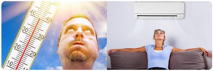 Кондиционер спасет вас от жары