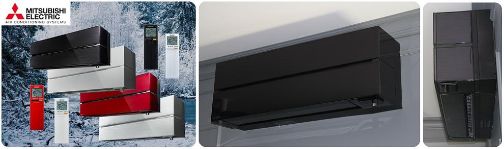 Дизайнерские кондиционеры Mitsubishi Electric серии Premium Design