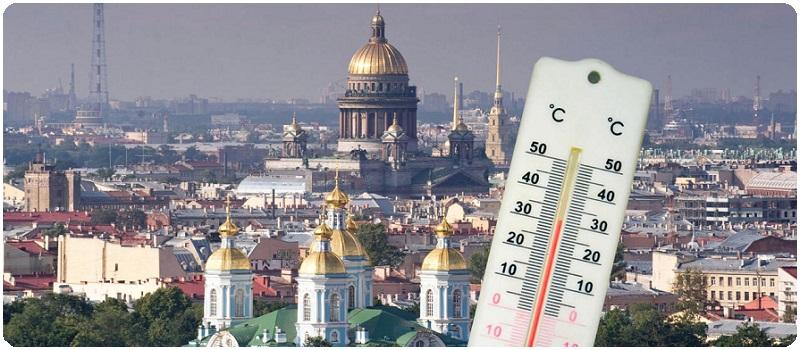 Жара в Санкт-Петербурге