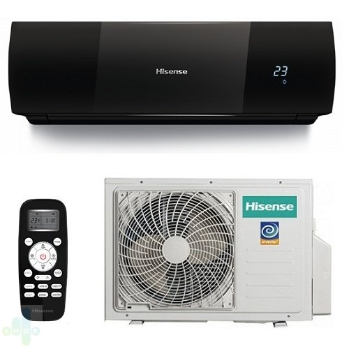 Hisense AS-09UR4SYDDEIB1 Black Star DC Inverter сплит-система