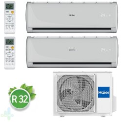 Haier 2U50S2SM1FA / AS07TS4HRA-M / AS12TS4HRA-M мульти сплит-система (комплект)